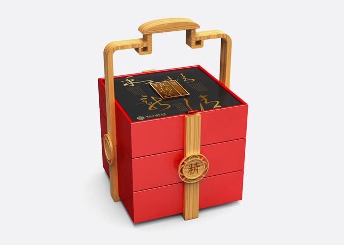 为淮扬菜集团小龙虾礼盒,淮扬菜礼盒,五谷杂粮三个产品提供了包装设计